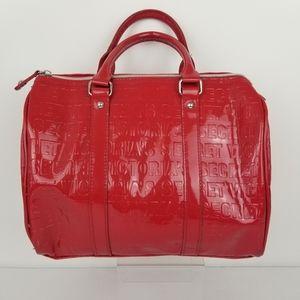 Victoria's Secret Patent Leather Red Tote